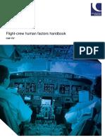 Flight Crew Human Factors Handbook