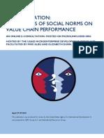 Social Regulation E-consultation
