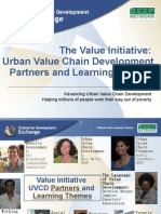 Value Initiative Partners & Learning Themes