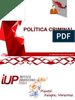 IUP Política Criminal