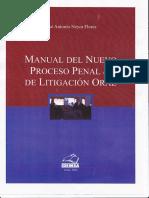Manual Del Nuevo Proceso Penal & de Litigación Oral. Neyra 2010