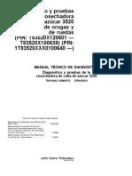 Manual de diagnóstico de cosechadora de caña - John Deere