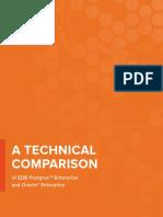 Technical Comparison Edb Postgres Enterprise and Oracle Enterprise eBook