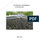 7.-Manual de Operacion y Mantenimiento de Filtro Biologico1