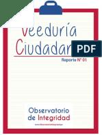 Reporte N° 1 de Veeduría Ciudadana