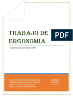 Trabajo de Ergonomia-confecciones Cristofher