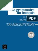 05 Transcriptions Discours Rapporté