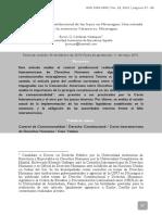 El Control Supra-constitucional de Las Leyes en Nicaragua. Una Mirada Desde La Sentencia Yatama vs. Nicaragua