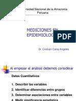 Mediciones en Epidemiologia Carey