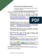 Instructivos Para El Informe de Gestion Evidencia Producto 220501046