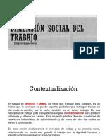 Dimension Social Del Trabajo
