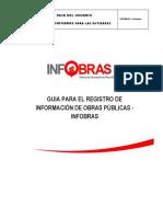 Guía de Registro en El Sistema Infobras v.3