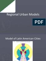 regional urban models