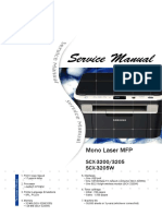 Samsung SCX-3200 Service Manual