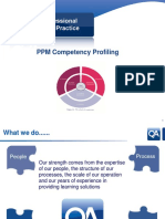 PPM Competency Profiling