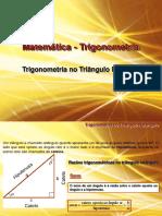 Vdocuments.mx Matematica Trigonometria Trigonometria No Triangulo Retangulo