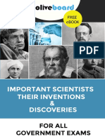 Important Scientists Inventions and Discoveries