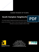 South Hampton Real Estate Market Report
