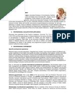Vera Simovska, MD., PhD, Summary