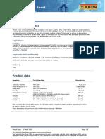 Barrier 80 Technical Data Sheet