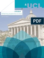 Connected Curriculum Brochure Oct 2017 of UCL