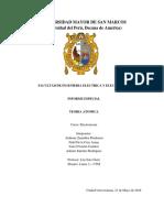 Electrotecnia Informe Especial 10