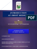 Deonto1an16-Introduction Droit Medical