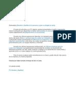 3 Carta de Presentacion Para Cv