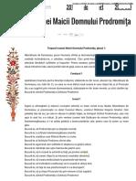 Acatistul Icoanei Maicii Domnului Prodromiţa _ Doxologia