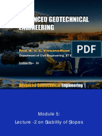 advance geotechnical engineering