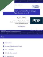 Structures Conditionnelles-algorithmique et langage C