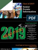 senior events information presentation