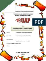 Psicologia de La Comunicacion monografia
