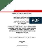 Plan Auditoria 2018 II