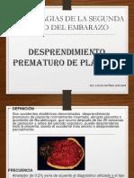 CLASE N° 6 HEMORRAGIAS DE LA SEGUNDA MITAD EMBARAZO.ppt