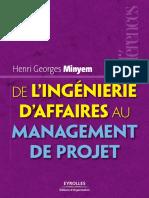 De Lingenierie Daffaires Au Management de Projet
