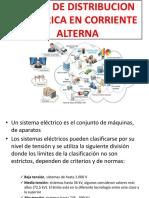 Redes de Distribucion Electrica en Corriente Alterna