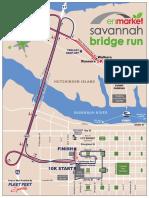 Bridge Run Map
