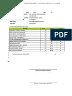 Formulario Digital Premiacion 2014-2015
