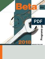 Catálogo Beta 2018