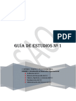 Guía de estudio N° 1 DO