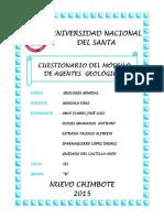 CUESTIONARIO DE AGENTES GEOLOGICOS