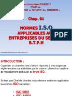 1 NORMES ISO Présentation