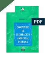 Compendio de Legislación Ambiental Peruana