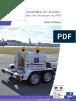 Auscultation Des Chaussees Souples Aeronautiques Au HWD_Guide DGAC-STAC (Fev.2014)