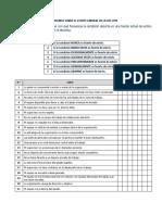 Cuestionario Sobre El Estrés Laboral de La OIT