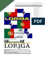 History of Loriga - Historia de Loriga