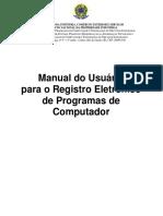 Manual do Usuário Registro de PRogramas V1.7.2