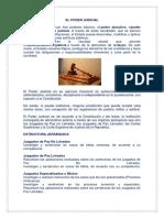 El Poder Judicial 1
