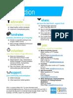 Marin Hunger Forum - Take Action